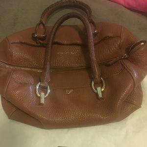 DVF brown bag